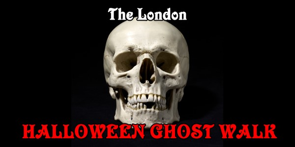 the london halloween ghost walk