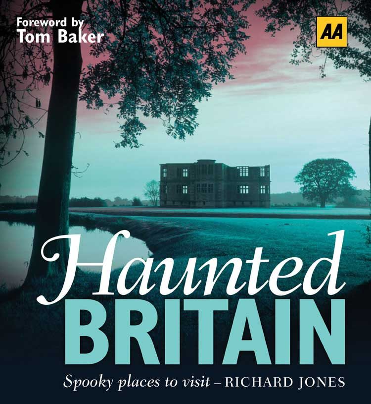 The cover of Richard's book Haunted Britain.